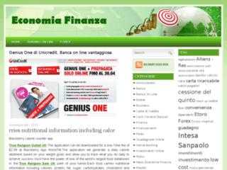 Info: Scheda e opinioni degli utenti : EconomiaFinanza.it - Economia