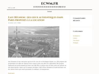 site http://www.ecwm.fr