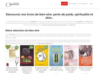 Editions optimum, Livres de bien être, perte de poids, spiritualité