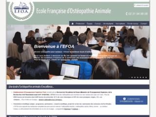 Détails : École de formation en ostéopathie animale