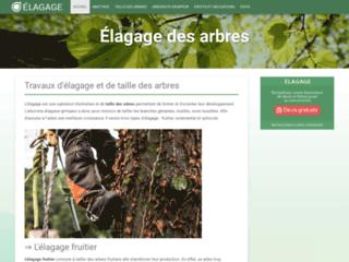 Aperçu du site Elagage.net
