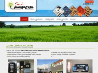 Détails : Electricité Lesage - vente, installation et entretien de chauffage à Valognes (50)