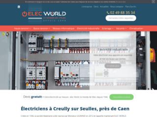 Électricien près de Caen - ELEC WORLD