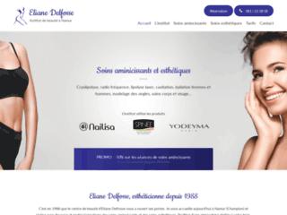 Détails : Éliane Delfosse : institut de beauté à Namur