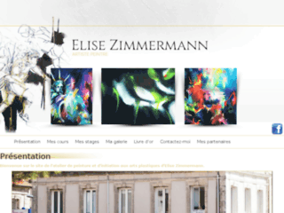 Atelier de peinture près de Royan (17) - Elise Zimmermann