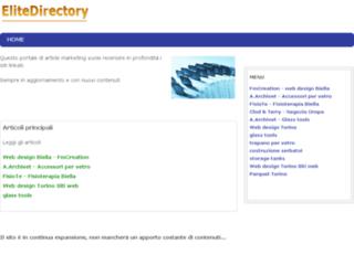 Web directory EliteDirectory