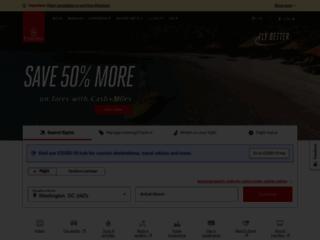 Capture du site http://www.emirates.com/fr/french/index.aspx