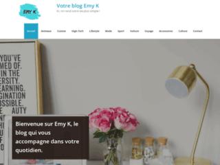Emy-k, le blog d'une maman active au quotidien.