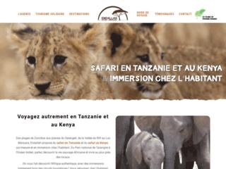 Détails : Safari en Tanzanie et voyage en immersion chez l'habitant
