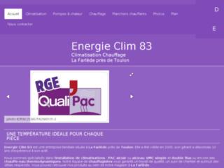 Détails : Enegrie Clim 83