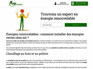 energie renouvelable : la chaine d'info