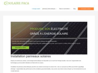 Pose panneau solaire
