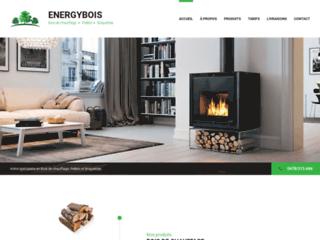 Energybois, vente en ligne de bois de chauffage