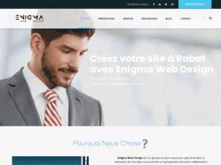 Détails : Création de site à Rabat, Refonte et Référencement.