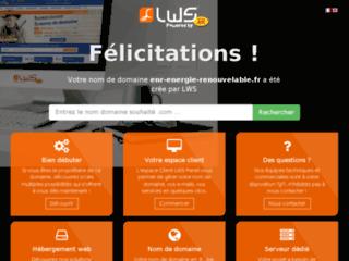 Capture du site http://www.enr-energie-renouvelable.fr