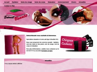 Institut de beaute 91 sur http://entractbeaute.com