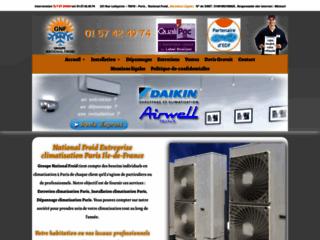 Détails : Dépannage des appareils de climatisation à Paris