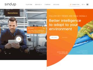 Capture du site http://entreprise.sindup.fr