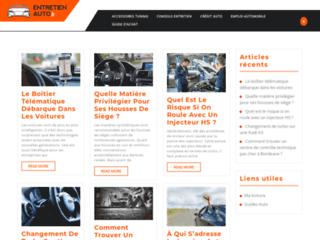 Détails : Blog dédié à l'entretien automobile