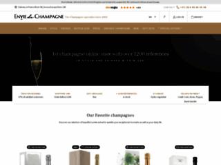 bouteilles de champagnes