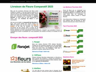 Le comparatif des meilleurs fleuristes français