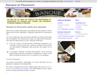 Capture du site http://www.epargne-placement.org/