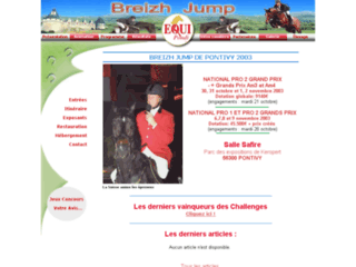 Equipondi - Concours d'obstacles international