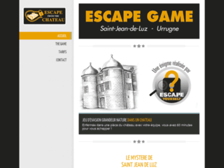 Escape Game - Escape from the chateau - Chateau d'Urtubie