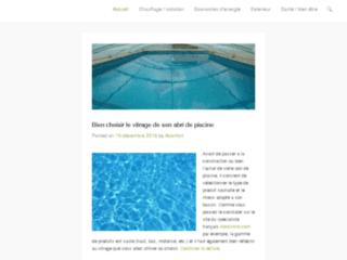 Traitement et recuperation de l'eau de pluie