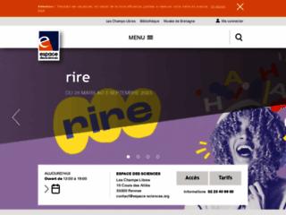 ESPACE DES SCIENCES