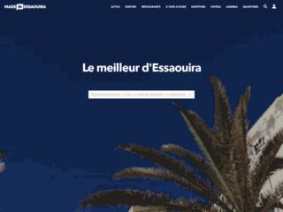 Week-end Maroc: Made in Essaouira : portail de la cité des alizés :