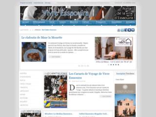 Capture du site http://essaouira.vivre-maroc.com/
