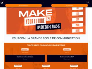 Esupcom : Ecole supérieure de communication