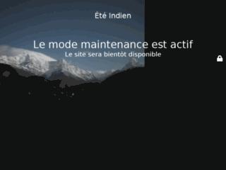 Aperçu du site Eté Indien