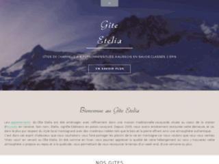 Gîte Etelia- Location vacances et week-end au ski à Aussois en Savoie (73)