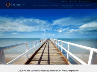 Capture du site http://www.ethis-rh.fr