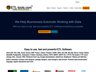 Business Automation and ETL software