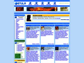 Capture du site http://www.etula.com