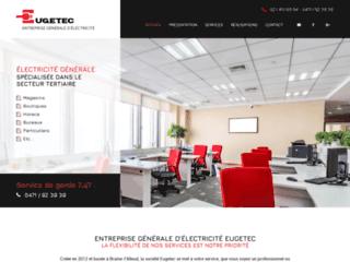 Eugetec, entreprise d'électricité