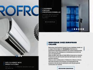 Capture du site http://www.eurofroid.fr