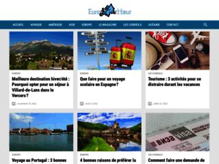 Capture du site http://www.europetrotteur.com