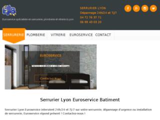 Détails : Euroservice vitrier Lyon vous accompagne dans vos travaux