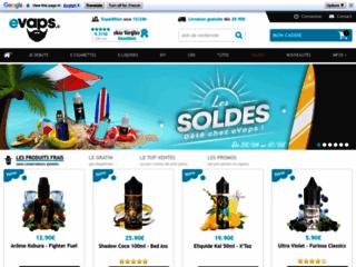 Détails : evaps la boutique pour une ecigarette de qualité supérieure