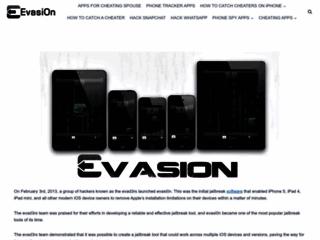 evasi0n - Jailbreak Untethered iOS 6.1 6.x per iPhone 5, 4S, 4, 3GS, iPad, iPod