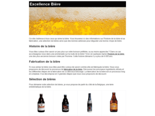 Excellence biere
