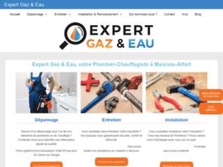 Détails : Expert Gaz & Eau, votre plombier-chauffagiste compétent