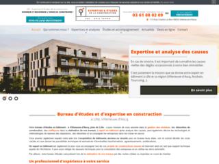 Bureau d'études en construction près de Lille