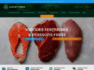 Capture du site http://www.expertfrais.fr