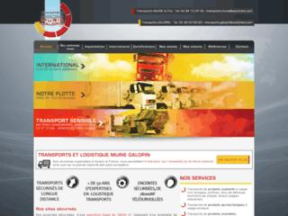 Détails : TRANSPORTS MURIE ET FILS