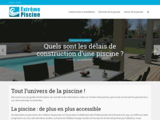 Aperçu du site Extrême Piscine